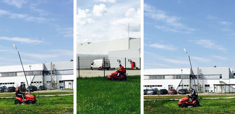 Curățenia în hale de producție și spații de birouri